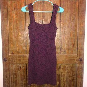 Free People Purple Mini Dress